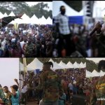 Stonebwoy brings out MTN hitmaker winner, OV to perform to hundreds of Soldiers