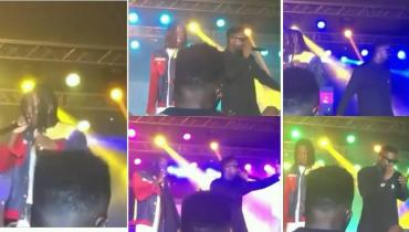 Sarkodie And Stonebwoy's electrifying performance at Bhim Concert 2018