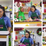 Vivian Jill prepares Fufu with special Green soup on McBrowns Kitchen