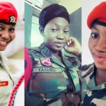 Meet Beautiful Ghanaian Military-Police Officer, Yakubu Shahada Melting Hearts On Social Media