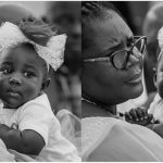 See Stonebwoy's Beautiful Daughter Grandma