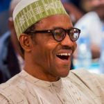 See Buhari's Reaction When He Was Declared Winner Of 2019 Presidential Election (Watch VIDEO)