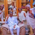 See First Photo Of Buhari's Family After Winning Reelection