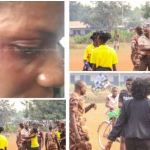 Prison Officer Brutally Assaults Female Referee Who Officiated Prison Ladies FC Game (Photos)