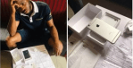 Photos: Man Cries Out In Pain After Buying REFURBISHED iPhone On Jumia