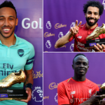 Aubameyang, Sadio Mane And Mohamed Salah Wins The EPL Golden Boot In The 2018/2019… Checkout