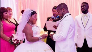 Hearts Of Oak Legend Ishmael Addo Weds Longtime Girlfriend In USA... [Checkout Photos]