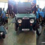 Akatsico Student builds a 'motor car' as his project work