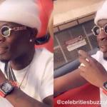Shatta Wale spotted wearing a GHC845,522 Richard Mille watch