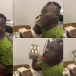 Shatta Bandle flaunts millions of cash in a video
