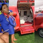 Inside the luxurious Kantanka 'aeroplane' car and the pretty ladies who served as attendants