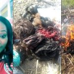 Nigerian Lady Gives Her Life To Christ, Burns Her Makeup Kit, Wigs And Trousers (Photos)