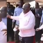 Prez Nana Addo shows off his impressive dance moves at the Savannah Region