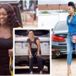 Photos of the powerful cars Ghanaian female celebrities drive