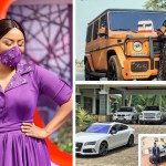 Nana Ama McBrown Flaunts Expensive Cars In Her House (PHOTOS)