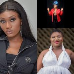 Ghanaian female celebrities who stripped naked on live Tv for clout.