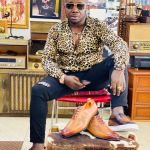 Controvercial stylish and Nana Aba's baby Daddy Osebo secures a BBC feature with his fashion sense
