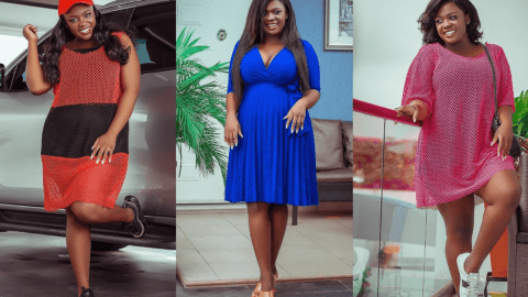 Tracy Boakye flaunts her beautiful East legon mansion and cars (photo)