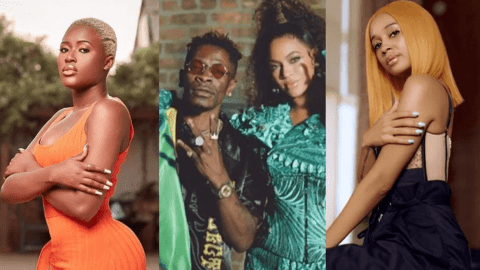 Fella Makafui And Sister Derby Come Out With One Piece As They Hail Shatta Wale Over His Feature With Beyonce