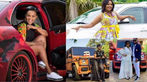 Wondering How Nana Ama McBrown Gets Money To Buy The Expensive Cars? Here Are Her Sources Of Income