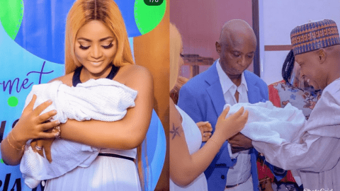 Checkout These Photos From Regina Daniel's Baby's Naming Ceremony (+Photos)
