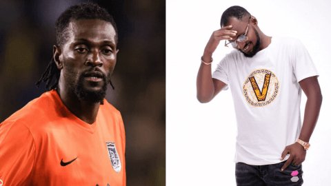 Adebayor Unfollows Funny Face On Instagram After He Disrespected Him