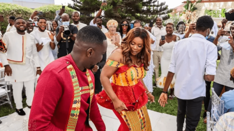 Joe Mettle Shows Killer Moves In Dance Battle With Wife At Their Wedding