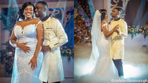 Official photos from the White Wedding ceremony of Joe Mettle & wife