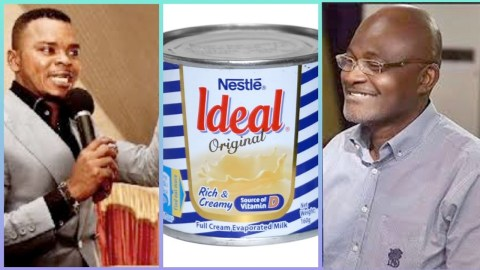 Forget Ken Agyapong ; Obinim is back with a new Milk direction