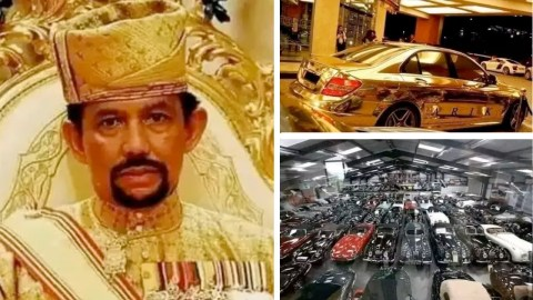 """""""Vanity Upon Vanity"""" Meet The Man Who Owns 7000 Cars Because he Loves Buying Expensive Things(Photos"""