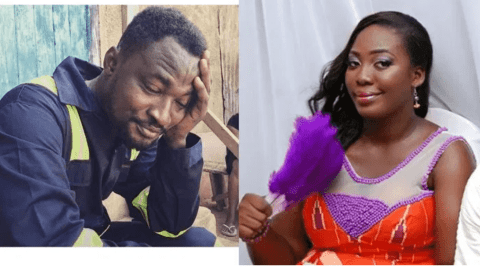 VIDEO: The Embarrassing Moment Funny Face's Ex-Wife Snubbed Him While Trying To Talk To Her At Adonko Next Level Launch