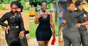 Photos Of The Most Beautiful Ghanaian Police Woman