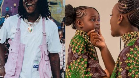 Stonebwoy features wife, Dr Louisa, and daughter, Jidula in 'Ever Lasting' video