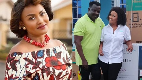 Nana Ama McBrown is an 'Angel' from God- see the amazing gifts she gave Koo Ofori after he lost his properties