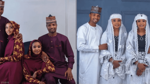 Twins wedding; Identical twin sisters engaged to identical twin brothers (Photo/Videos)