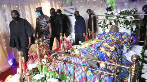 Tears Flow As Murdered Mfantseman MP Laid To Rest (PHOTOS)