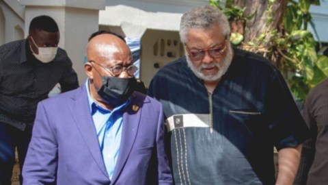 Akufo-Addo declares 7 days of national mourning to honor the memory of Rawlings