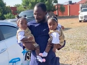 Funny Face Angrily Deletes Pictures Of His Twins From His Wall