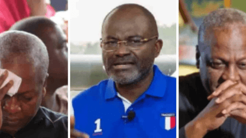 "We will burn You alive ,You are f00l "" – Kennedy Agyapong threatens Mahama [Video]"