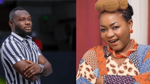 'I Really Respected Her But She Needs Free SHS' – Prince David Osei 'Slaps' Christiana Awuni After She Blasted Him