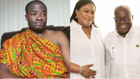 Evangelist Addai Does Magic Calculations With Rebecca Akufo-Addo's Name To Reveal Nana Addo Will Win The Elections