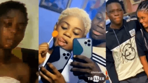 Another broken alert: Lady can't stop crying after boyfriend dumped her [Video]