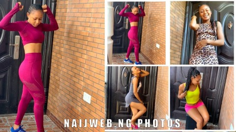12 Different Pictures Actress Akuapem Poloo took on the same spot (Photos)