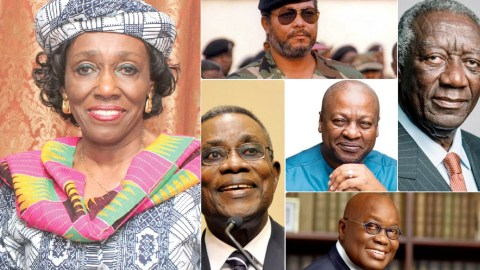 Pictures And Names Of The Children Of All The Presidents Of The Fourth Republic Of Ghana.