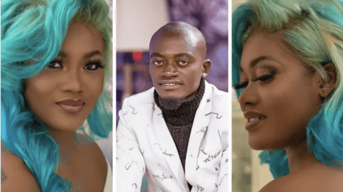 Lil Win's girlfriend 'Sandra Ababio' is a hair goddess, see pictures of her most iconic hairstyles