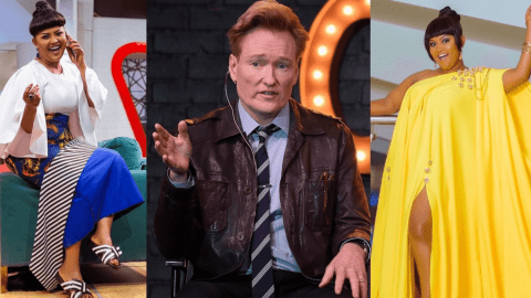 American entertainer Conan O'Brien praises Nana Ama Mcbrown; calls her fantastic woman (video)
