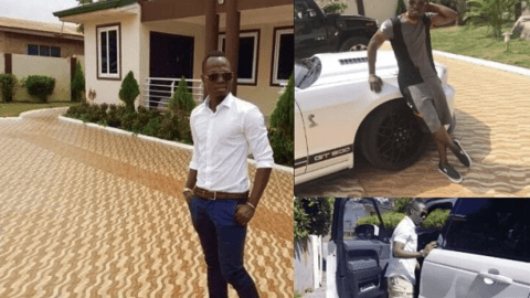 Checkout The Luxurious Lifestyle Of Agyemang Badu, His Expensive Cars And Mansion.