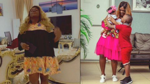 Tracey Boakye Subtly Announces The Birth Of Her 3rd Child (Photos)