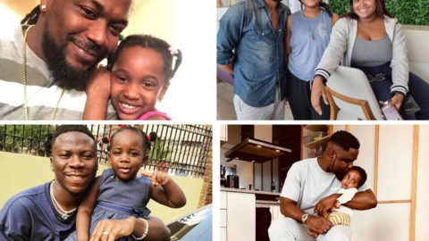 Fatherly love: checkout lovely photos of five celebrities with their children.