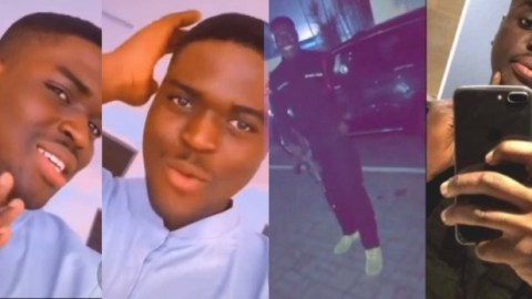 Videos of some of the beautiful moments the handsome policeman killed in the Bullion Van had on earth